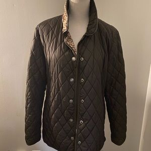 Coach Women's Quilted Brown Jacket